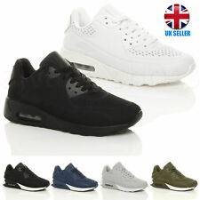 MENS LACE UP CASUAL GYM SPORT FITNESS RUNNING TRAINERS SNEAKERS SHOES SIZE