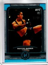 2019 Topps UFC Museum Collection MAYCEE BARBER #43 Sapphire Parallel 24/25 RC SP