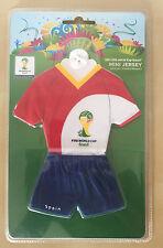 Spanien Spain Mini Trikot Mini-Kit groß Fussball WM EM 2014 Brasil 2018