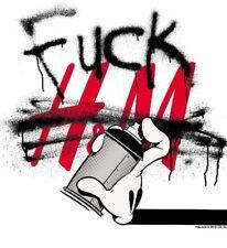 F*CK  H&M T SHIRT By OG SLICK LA EXCLUSIVE