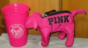 Victoria Secret Pink Mini Dog - Packable Convertible Tote Bag We Run Beach Glass