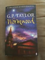 "2004 1ST EDITION ""WORMWOOD"" G P TAYLOR FICTION PAPERBACK BOOK"