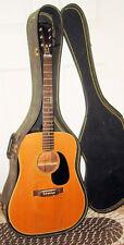 1972 Yamaki Deluxe Folk B178 / 120 Lawsuit Era Acoustic Guitar W/ Orig  Case
