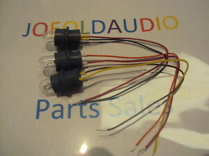 Pioneer SX-650/550 Dial Lamps & Sockets Kit. New Lamps. Parting Out SX-650/550