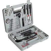 Mallette à outils 141 Pièces Valise Coffret Boite Caisse Set Kit Réparation