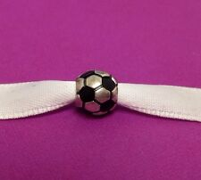 Authentic Pandora Silver Soccer Ball Bead Charm #790406 *Retired*