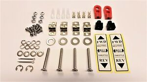 """Twin lever, Fitting Kit for """"TWIN ENGINE"""" control head. ST-TWIN"""