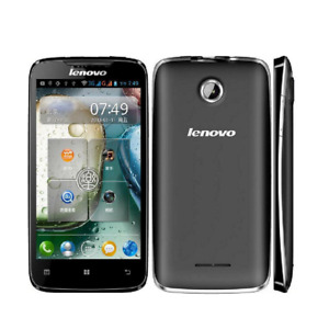 Android Lenovo A390 3G Dual SIM 4GB ROM 5MP Bluetooth Wi-Fi GPS Mobile Phone 4in
