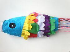 BALI FLAG WIND SOCK KITE WINDSOCK FISH RIBBON TAIL BALINESE GARDEN ORNAMENT