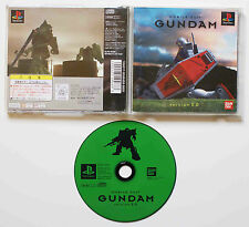 MOBILE SUIT GUNDAM Version 2.0 sur Sony PLAYSTATION 1 PS1 Japan