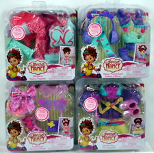 4 Fancy Nancy Doll Fashion Accessories Lot FASHIONISTA GARDEN FAIRY SLEEPOVER