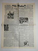 N1027 La Une Du Journal Le Matin 26 décembre 1922 prédiction parisienne 1923