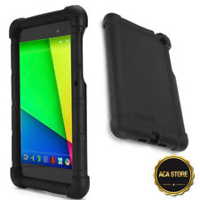 Case For Google Nexus 7 2013 Tablet Flexible Shockproof Silicone Cover Black