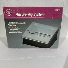 Vintage GE Answering System Message Machine Micro Cassette Tape 2-9815