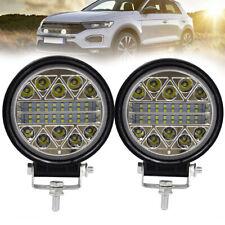 2Pcs Car Auto 13600LM LED Spot Flood Beam Round LED Work Lights Lamp Accessories