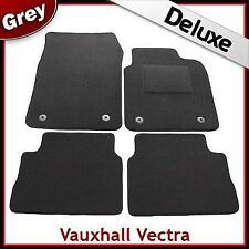 VAUXHALL VECTRA C 2002-2008 Tailored LUXURY 1300g Carpet Car Floor Mats GREY