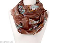 Écharpes et châles foulard avec des motifs Cachemire polyester pour femme