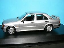 Mercedes Benz 190E 2.3 16V 1988 in Met.Silver Whitebox Product in 1:43rd. Scale