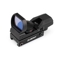 New Red Dot Finder Finderscope Sight Scope 4 Reticles Quick Mouting & Release