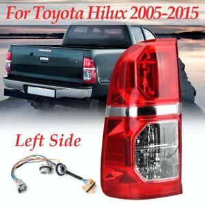 LH Left Rear Tail Brake Light Lamp W/ Wire For Toyota Hilux SR SR5 Ute 2005~2015