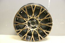 "1 GENUINE ORIGINAL FIAT 500 16"" GUCCI X SPOKE ALLOY WHEEL COPPER 51902574"