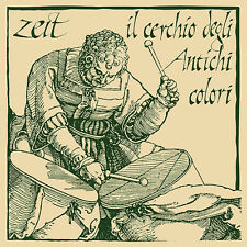 "Zeit ""Il Cerchio degli Antichi Colori"" LP reissue italian impro ethno jazz"