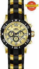Invicta Men's 23705 Pro Diver Quartz Chronograph Gold Dial Watch
