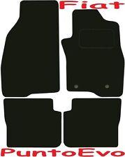 FIAT PUNTO EVO Su Misura Deluxe Tappetini Auto Di Qualità 2009-2015