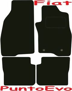Fiat Punto Evo Tailored Deluxe Quality Car Mats 2009-2015