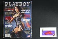 💎 PLAYBOY MAGAZINE JAN 2002 LADY WRESTLER WARRIOR PRINCESS LOANIE LAURER💎