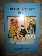 Vtg PB book, Buckle My Shoe Book by Walter Crane, 1967 Mulberry Press