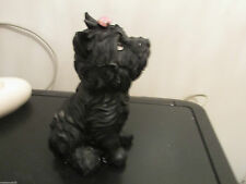 "Dogs and ornaments - latex mould mold of a Westie Dog 5.5"" tall"