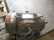 RELIANCE ELECTRIC DUTY MASTER MOTOR #425231H FRAME:L184TY 5HP RPM:3500 REBUILT