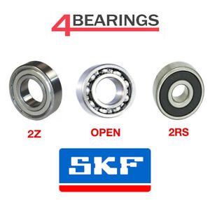 SKF Bearing 6000 6307 Series Open 2RSH 2Z C3  Choose your size