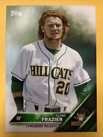 2016 Topps Clint Frazier Pro Debut #123 NY Yankees Lynchburg Rookie Card RC