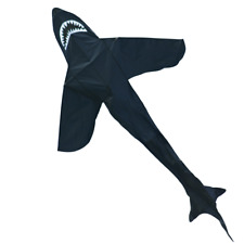 CIM Kinder-Drachen Sky Shark Einleiner-Flugdrachen inkl Drachenschnur fliegen