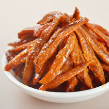 8g Chinese Popular Delicious Strips Snack Food VBBQ Fish Hot Spicy