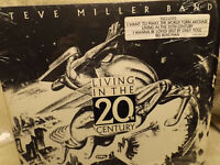 STEVE MILLER / LIVING IN THE 20TH CENTURY / VG / FREE SHIP SEE DESCRIP