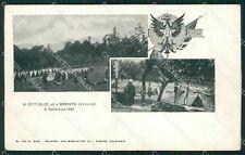 Varese Brenta Cittiglio Militari Valcuvia cartolina QK9811