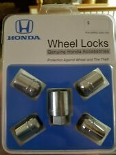 Honda Wheel Lock Set fits Accord, Civic, and more! Genuine Honda Accessory!