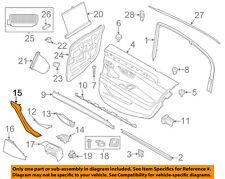 BMW OEM 11-16 550i xDrive Interior-Rear Door-Pull Handle Left 51417225849