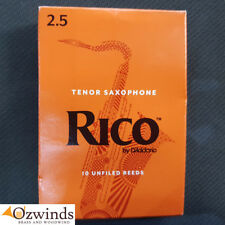 Rico Tenor Saxophone Reeds Strength 2.5 (Box of 10) by D'Addario