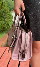 Coach ROGUE 25 ~~Ice Purple Bow~~ Satchel Detachable Straps Shoulder/XBody  NWOT