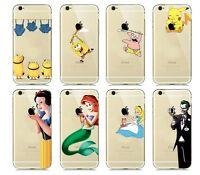 Fundas Princesas Disney Sirenita Cenicienta Blancanieves.TODOS  MODELOS IPHONE!
