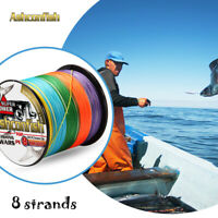 Japanese Super Strong 1000M Multifilament 8 strands Line PE Braided Fishing Line
