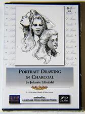 Johnnie Liliedahl: Portrait Drawing in Charcoal - ART DVD