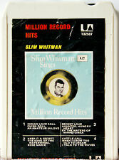 SLIM WHITMAN  Sings Million Record Hits 8 TRACK TAPE  CARTRIDGE