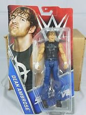 WWE Dean Ambrose Smackdown Basic Assortment Action Figure Mattel