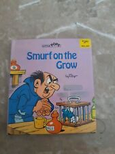 Vintage 1982 Smurf On The Grow By Peyo Little Pops Pop Up Book Hardcover Kids
