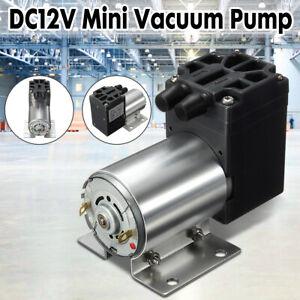 5L / min 120kpa DC12V Mini Vacuum Pump Negative Pressure Suction Pump W/ Holder